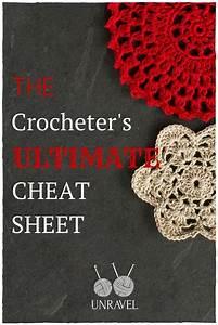 A Crochet Cheat Sheet To Help Beginner Crocheters Remember
