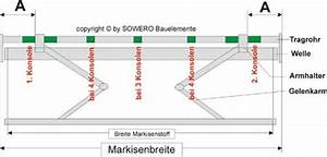 Markise Ausfall Berechnen : montage details h lsenmarkise h300 ~ Themetempest.com Abrechnung