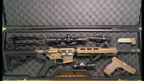 burnt bronze  black ar  pistol toms custom guns