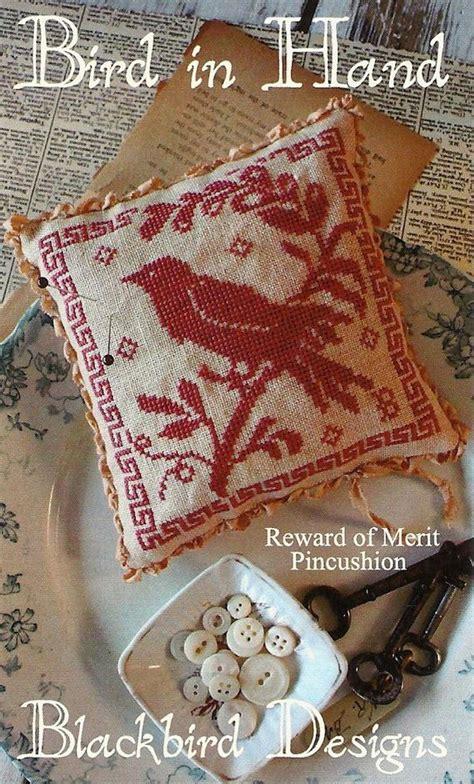 blackbird designs cross stitch pattern bird by primfolkartshop