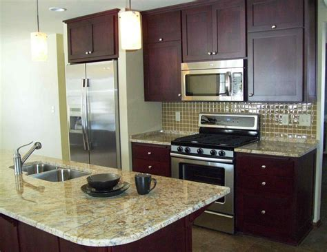 Small Open Galley Kitchen
