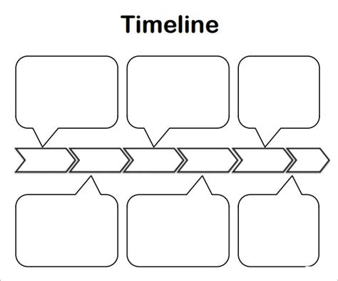 blank timeline templates   ms word google