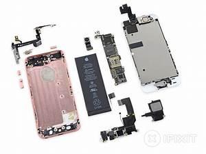 Ifixit  Bildschirm Des Iphone Se Identisch Mit 5s