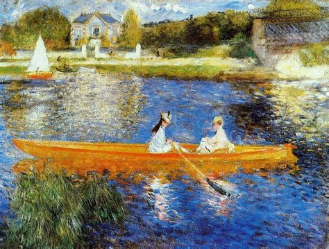 Pierre Auguste Renoir French 1841 1919 The Skiff La