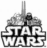 Wars Lego Coloring Star Chewbacca Pages Clipart Outline Clip Template Silhouette Sheets Print Rocks Printable Fett Bal Webstockreview Funny Popular sketch template