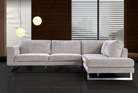 Contemporary Sectional Sofas by Divani Casa Modern Fabric Sectional Sofa Sofas