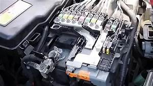 How To Remove Battery And Fuse Box Peugeot 508