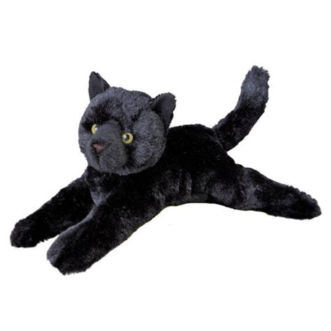 douglas tug plush black cat toy  stuffed animal  ebay