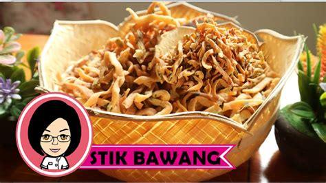 Stik bawang memang salah satu resep cemilan yang sangat populer di negara kita. Resep cemilan Stik Bawang | Resep Kue Bawang, Tanpa Santan, Renyah dan Gurih - YouTube