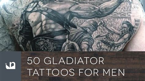 gladiator tattoos  men youtube