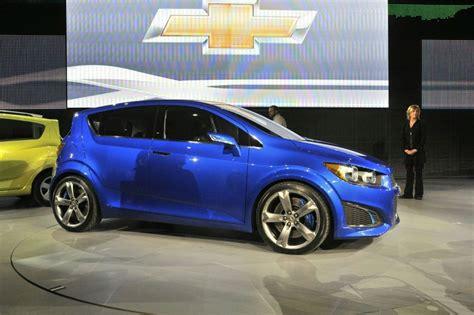 New Chevrolet Aveo Rs Concept Live At Detroit Auto Show