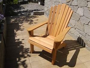 Fauteuil Bois Exterieur : fauteuil adirondack mobilier d 39 ext rieur en m l ze monin bois sas ~ Melissatoandfro.com Idées de Décoration