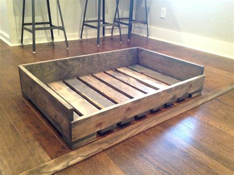 Beds Wooden Pet Bed With Stairs Custom Wood Dog Beds Diy ...