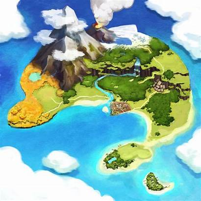 Map Island Sera Atelier Fantasy Creativeuncut Games