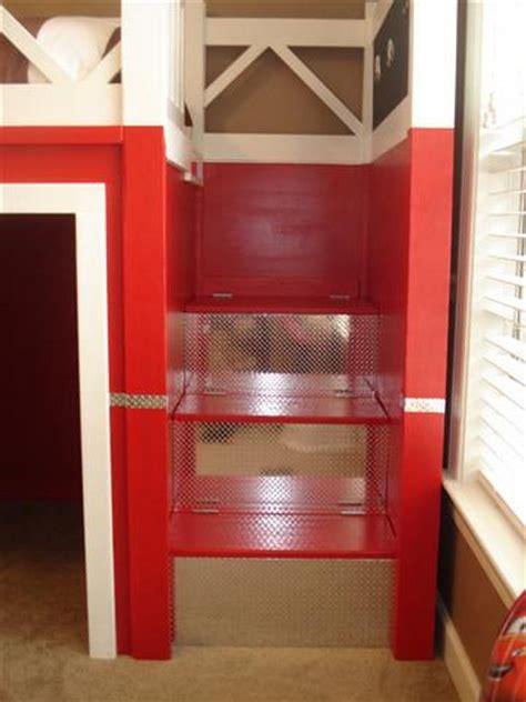 diy fire truck bunk bed  owner builder network