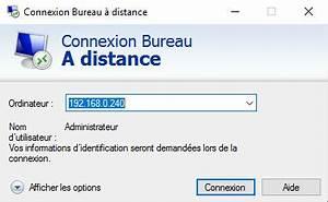 Windows Server Ou Windows Connexion Bureau Distance