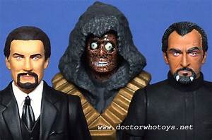 Doctor Who Action Toys - Roger Delgado The Master and Axon