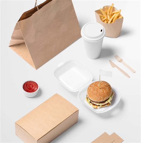 Edit the free menu psd mockup file with its smart object layer. Free Burger Store Branding Mockup (PSD)