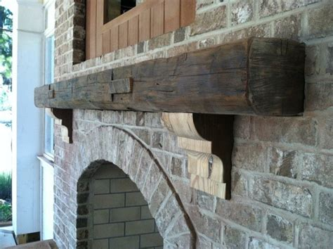 salvaged fireplace mantels for reclaimed fireplace mantel contemporary exterior