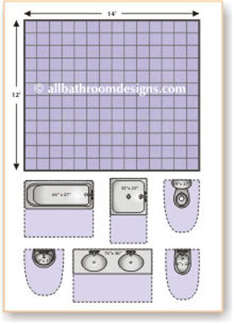 Bathroom Design Templates by Bathroom Layouts Made Easy