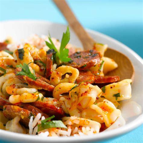 calamars à l 39 ail et chorizo facile recette sur cuisine