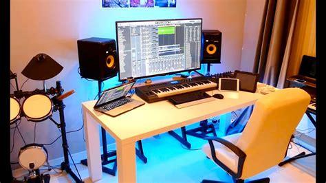 Home Recording Studio : New Home Recording Studio Tour ()-youtube