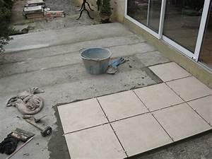 Carreler Terrasse Extérieure Sur Chape Sèche : carrelage sur terrasse nini d co ~ Premium-room.com Idées de Décoration