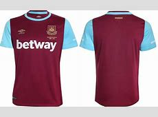 New West Ham 201516 Home Away Kits Released