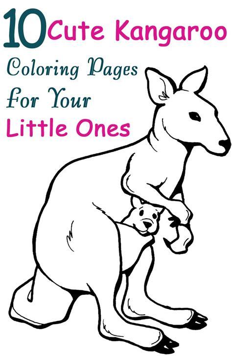 Joey Coloring Page Of Preschool
