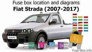 Fuse Box Location And Diagrams  Fiat Strada  2007-2017