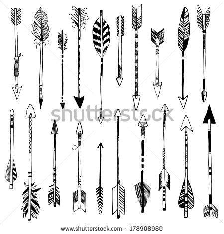 hand drawn  arrows collection cut files arrow