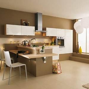 idee modele peinture pour cuisine With idee modele cuisine