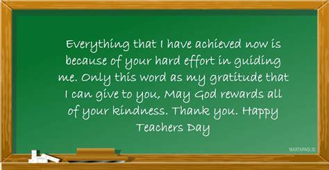 kata ucapan hari guru nasional  bahasa inggris terbaru  wartapagiid