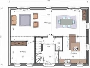 maison cle sur porte mc283 With plan maison rez de chaussee