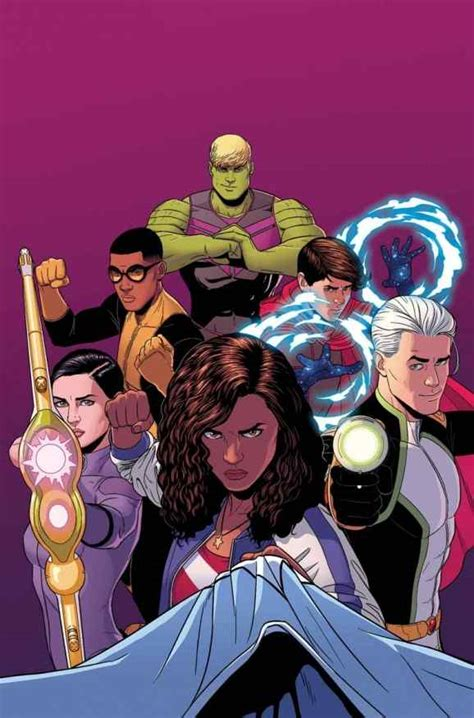 young avengers   portrayal  diversity  artifice