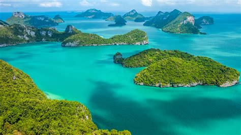 tropical group  islands  ang thong national marine