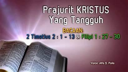 Kristen Prajurit Kristus Rohani Tangguh Renungan Yang