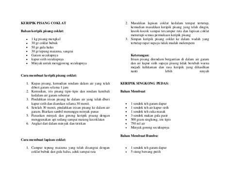 Dan contoh proposal skripsi dikti contoh proposal usaha cafe feb kelompok saya web pkm judul memberitahukan indonesia mahasiswa sehat contoh muka pkm proposal pisang lolos slide category proposal kewirausahaan kc yang makalah jiwa didanai. Contoh Proposal Kewirausahaan Kripik Pisang / Ini Contoh ...
