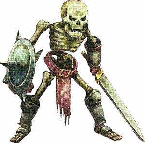 Skeleton Enemy Line Golden Sun Universe The Golden Sun Wiki