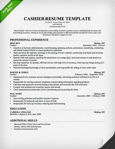 retail industry resume sle resume genius