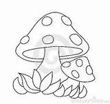 Mushroom Clipart Mushrooms Clipground Perfect sketch template
