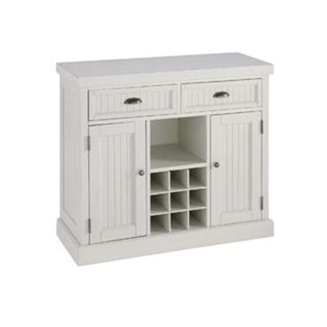Home Styles Distressed White Nantucket Buffet  Home