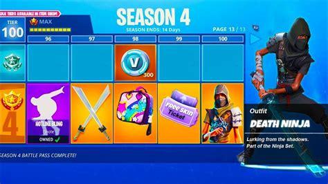 fortnite season  battle pass items fortnite