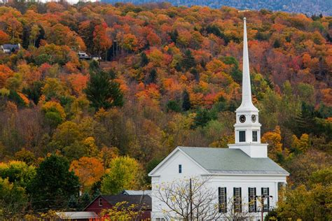 beautiful charming small towns  vermont