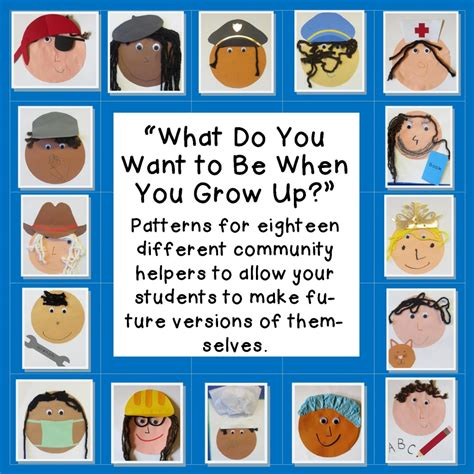 community helpers in preschool teaching the 296 | Community Helper Thumbnails 1024x1024