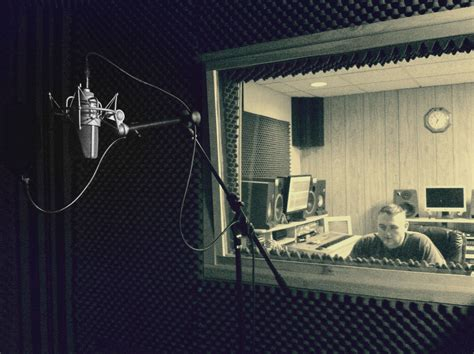 Recording Booth @brittany Prater's Den.