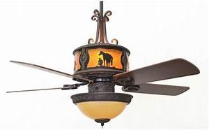 Copper canyon sheridan bronze ceiling fan rustic