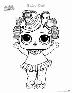 Lol Surprise Doll Coloring Pages At Getcolorings Com