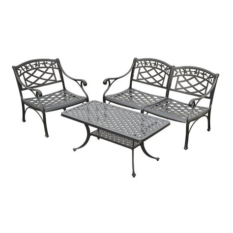 shop crosley furniture sedona 3 aluminum patio