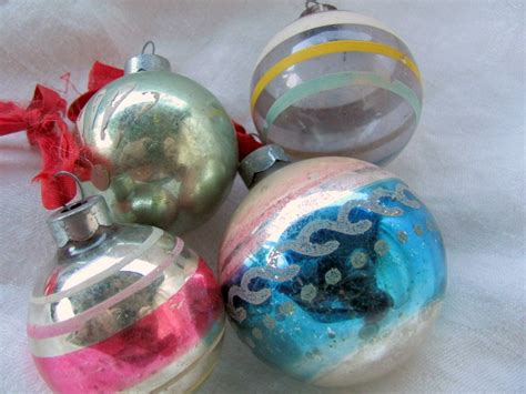 sale vintage 1940 s 1950 s christmas ornaments was